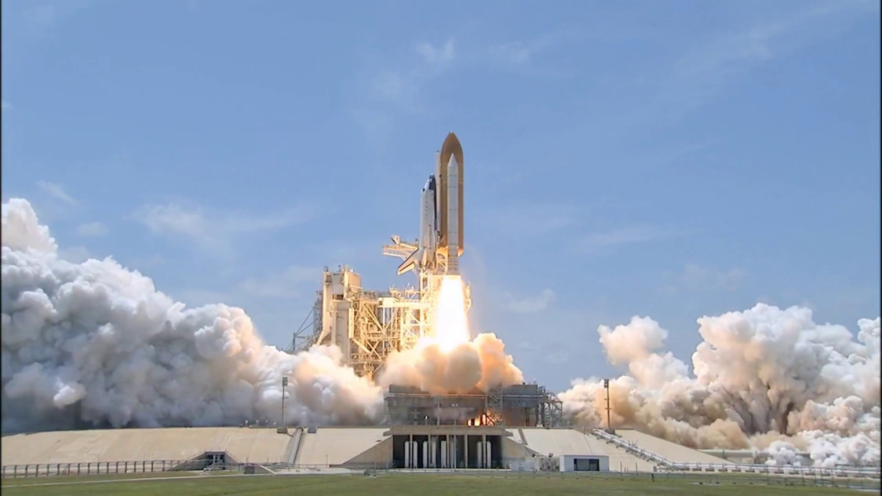 Nasa'nın uzaya roket gönderme görüntüleri -Nasa launching