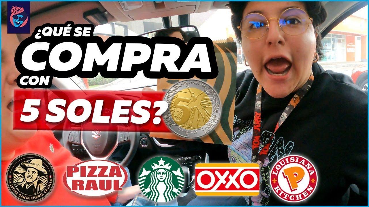 ¿QUE SE PUEDE COMPRAR CON 5 SOLES EN ESTOS RESTAURANTES? - Ariana Bolo Arce