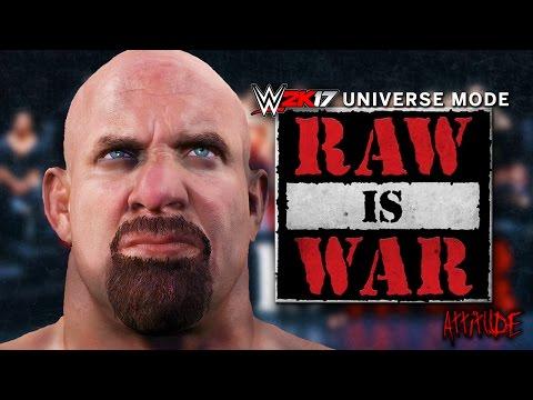 WWE 2K17 Universe Mode - Ep 4 - GOLDBERG!! GOLDBERG!!