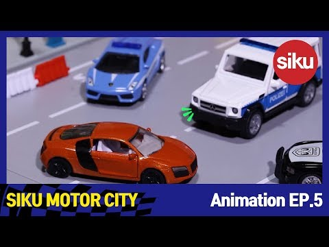 [SIKU Motor City] EP5.The Great Police Chase_A Korean film with English subtitles_by Nabita World