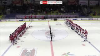 Хоккеистки России заставили смолкнуть трибуны, освистывающие российский гимн. Женский МЧМ-2017.