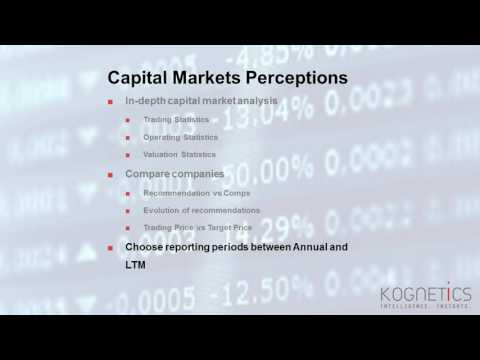 Kognetics - Capital Market Perception