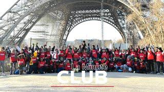 LA MINUTE CLUB - VISITE DE LA DAME DE FER !
