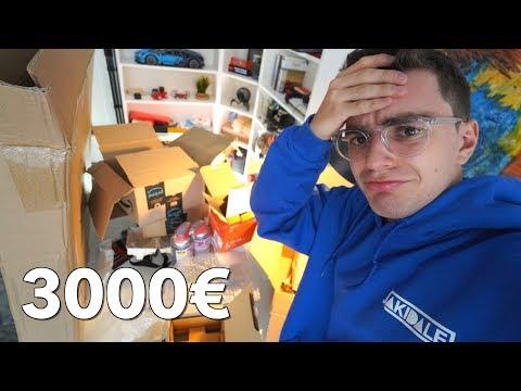 UNBOXING 3000€ DI NUOVI PRODOTTI (questa volta cose utili)