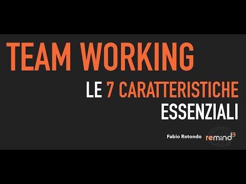 Remindium #17 - Team Working - Fabio Rotondo - Pillole di Formazione