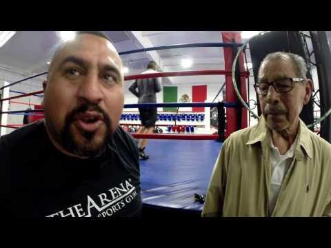 """180+ Pro Fights - Boxing Hall of Famer Gaspar """"Indio"""" Ortega Living Legend"""