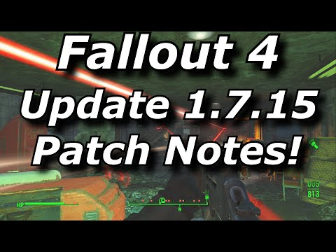 Fallout 4 Update 1.7.15 Patch Notes! Nuka World DLC Monorail Issue Fixed! (Fallout 4 Update News)