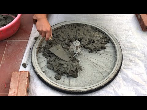 Concrete Ideas From Recycled Sponges And Cement | How To Make Coffee Table - Creative And Innovative