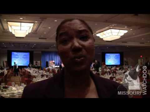 Wisconsin Sen. Lena Taylor interview in St. Louis