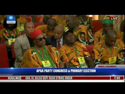 APGA Party Congress & Primary Election Pt.27 | Live Coverage