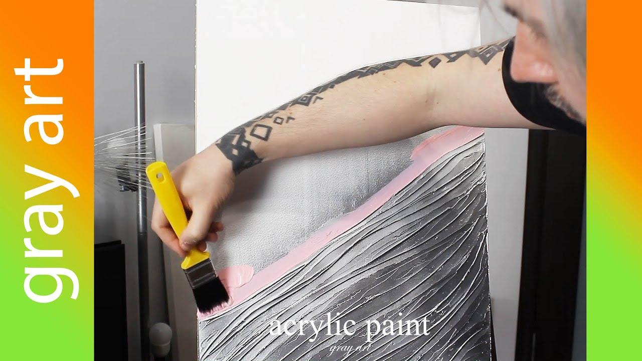 Картина Акриловыми красками с поталью / Интерьерная картина