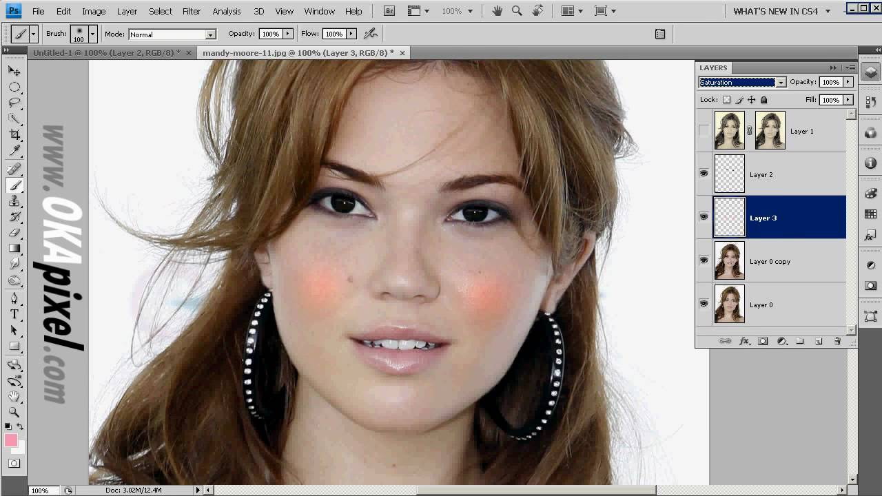 Mandy moore complete face change photoshop makeup makeover mandy moore complete face change photoshop makeup makeover tutorial video baditri Image collections