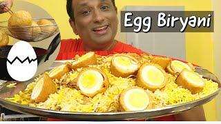 Egg Biryani in Rice Cooker  -  Egg paneer Nargisi Biryani - Egg Biryani with  Spicy Biryani Salan