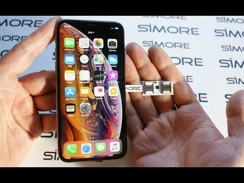IPhone XS Dual SIM Adapter 4G For IPhone XS IOS 12 - SIMore Speed X-Twin-XS
