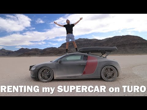 How much MONEY I've made renting my Audi R8 on TURO