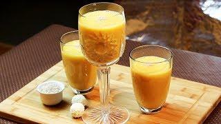 Papaya-mango-smoothie Und -eis