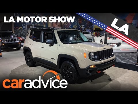 2017 Jeep Renegade Deserthawk and Altitude | 2016 Los Angeles Motor Show