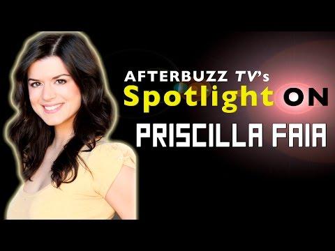 Priscilla Faia   AfterBuzz TV's Spotlight On