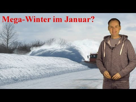 Mega-Winter im Januar 2019? Was ist an den aktuellen Wetter-Gerüchten dran? (Mod.: Dominik Jung)
