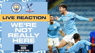 MAN CITY V CRYSTAL PALACE | PREMIER LEAGUE | WNRH FT SHOW