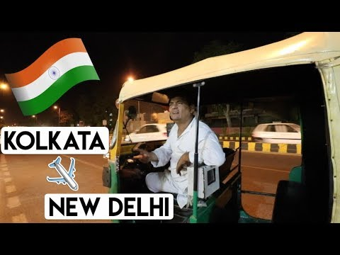 INDIA TRAVEL VLOG - Kolkata to New Delhi Ep. 31