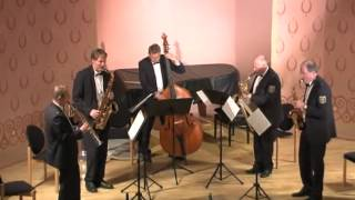 Jive for Five - Paul Nagle - Saxophonquartett - Polizeiorchester Rheinland-Pfalz