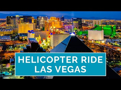 Spectacular Night Helicopter Rides In Las Vegas By Sundance Helicopters