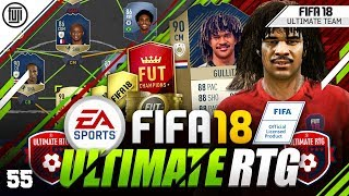 A TEAM CHANGE!?!? FIFA 18 ULTIMATE ROAD TO GLORY! #55 - #FIFA18 Ultimate Team