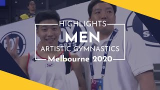 2020 Melbourne Artistic Gymnastics World Cup – Highlights Men's competition