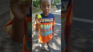 Bouncy ball tricks