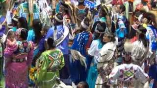 Gathering of Nations Pow Wow Grand Entry April 27, 2013