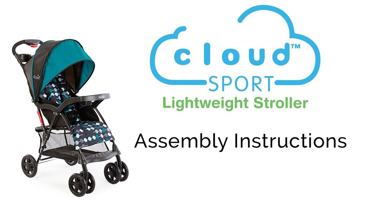 Kolcraft Cloud Sport Assembly Instructions