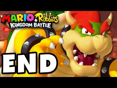 Mario + Rabbids Kingdom Battle - Gameplay Walkthrough Part 21 - Bowser Final Boss Fight