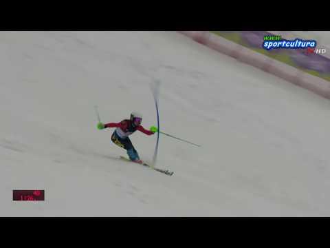 Alpe Cimbra FIS Children Cup slalom CHI 1 2 run #live #sci #sport