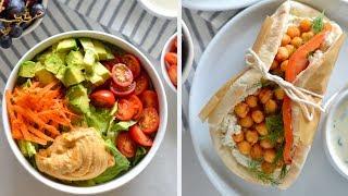 3 Vegan Easy Lunch Ideas (No-Cook)