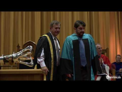 UWaterloo Spring 2016 Convocation - Science (Morning)