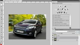 Анимация в Photoshop. Разрезанная фотография. Часть 1 (37/40)