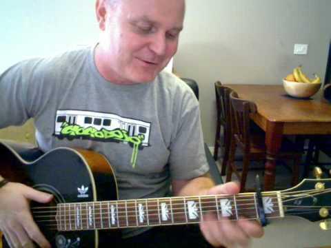♪♫ Johnny Cash - Cocaine Blues (Tutorial)
