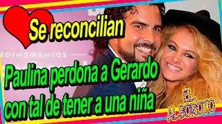 Aseguran Paulina está buscando embarazarse de Gerardo Bazua. Paulina Rubio