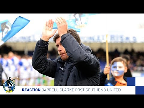 Reaction: Darrell Post Southend United