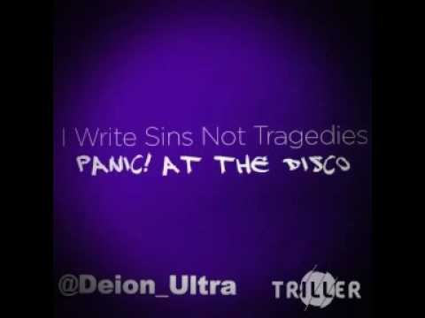 I Write Sins Not Tragedies - Panic! At The Disco [LYRICS in description]