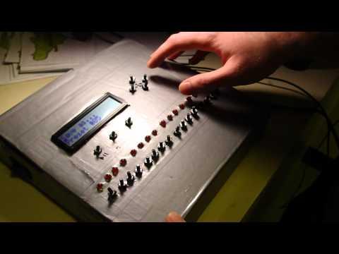 step sequencer drum machine