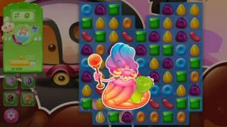 Candy Crush Jelly Saga Level 384 SO CLOSE!