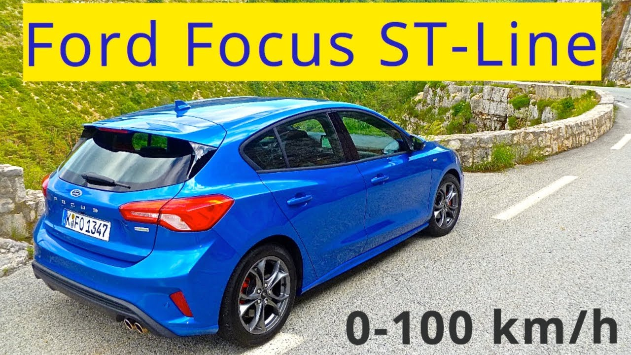 2019 Ford Focus St Line 0 100 Km H Youtube