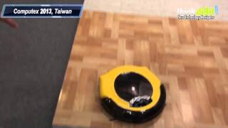 AGAiT Eclean EC03 = Robotic vacuum cleaner + surveillance system
