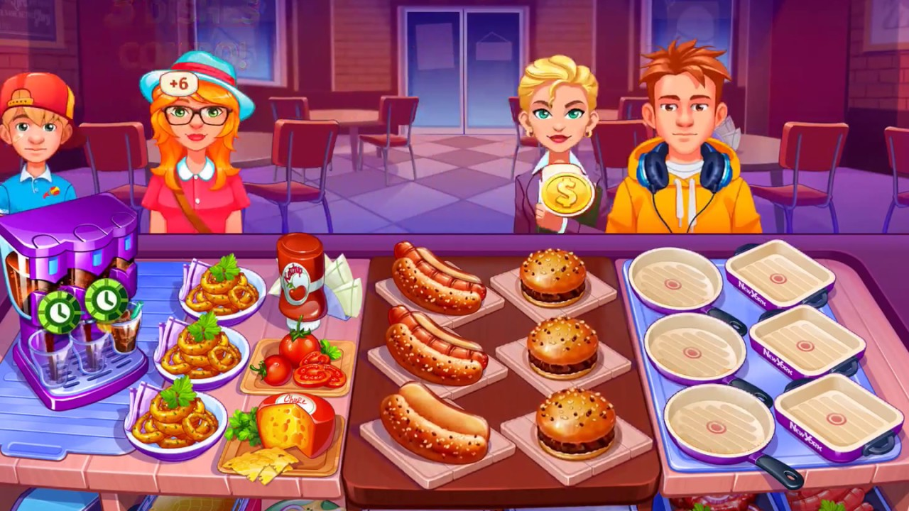 Cuisine Gameplay Cooking Craze Ios Android Gameplay Fastfood Restaurant