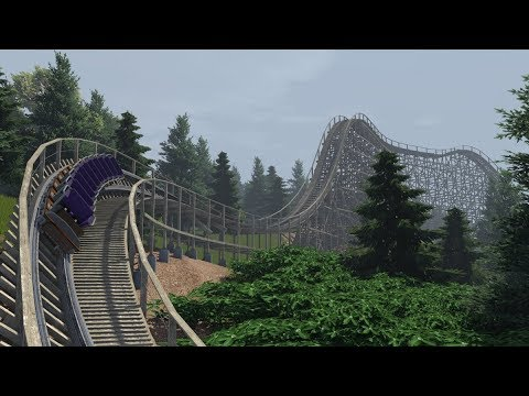 Terror Trail - GCI (with a drop section) - NoLimits 2