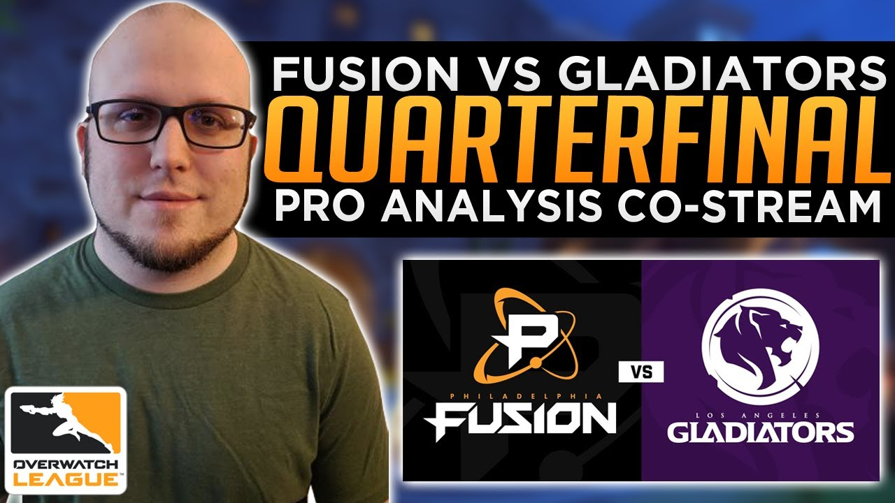 Fusion vs. Gladiators Countdown Cup Quarterfinal Pro Analysis - Overwatch League Co-Stream