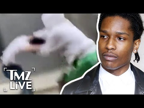 Footage of A$AP Rocky's Wild Fight | TMZ Live