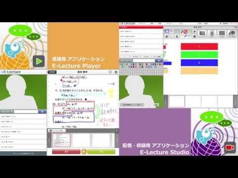 授業配信システム「E-Lecture」